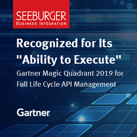 SEEBURGER recognized in 2019 Gartner Magic Quadrant for Full Life Cycle API Management