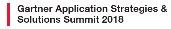 Join SEEBURGER at Gartner Application Strategies & Solutions Summit 2018!