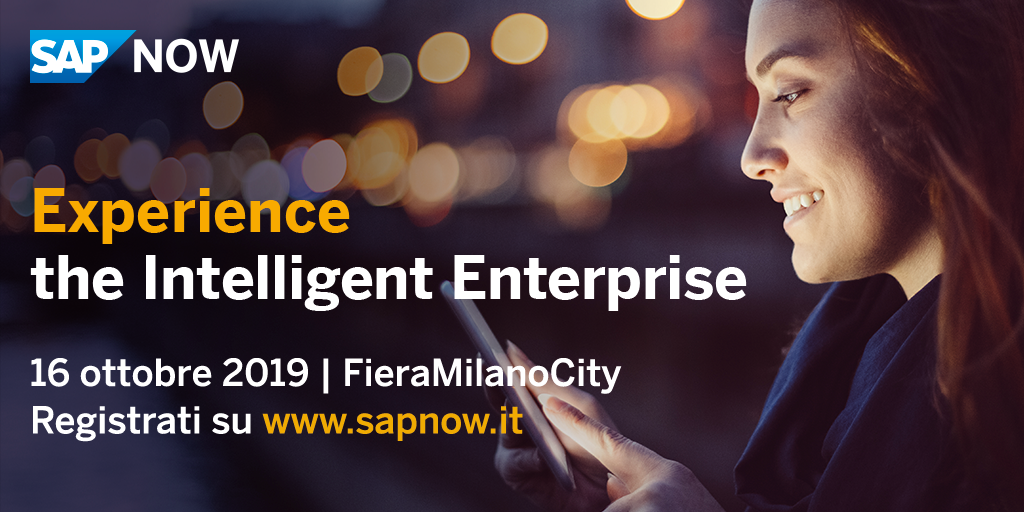 SEEBURGER al SAP NOW Milano 2019