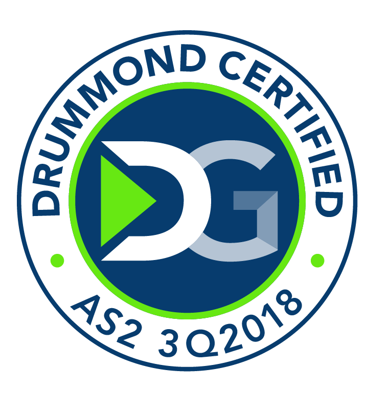 Drummond Certified™ AS2 3Q 2018